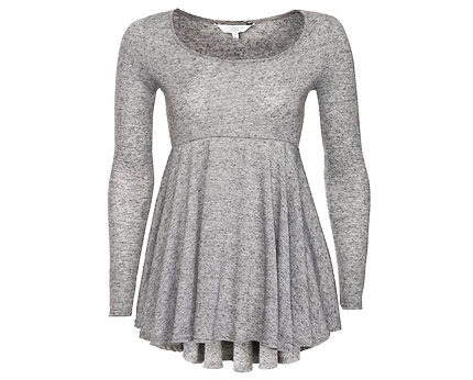 Long Sleeve Baby Doll Top at New Look