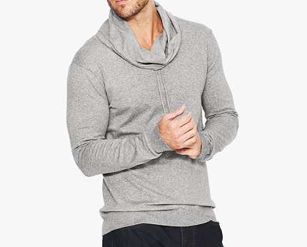 Men's Cowl Neck Jumper at Isme