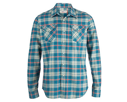 Men's Green Large Check Shirt at New Look