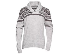 Men's Shawl Neck Knit Jumper MandMDirect