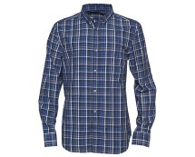 Navy Men's Check Shirt at MandMDirect