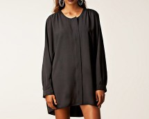 Oversized Chiffon Shirt Dress at Nelly