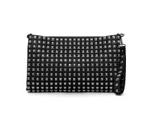 Oversized Clutch with Stud Detail at Missguided