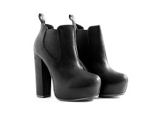 Black Platform Ankle Boots at Missguided
