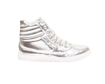 Silver Lace High Tops at Urban Outfitters