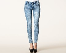 Skinny Stretch Denim High Waist Jeans at Nelly