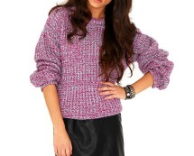Tetrine Oversized Knit at Missguided