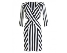 Love Stripe Cut Out Dress at ILWF