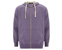 Men's Lilac Casual Hoodie at Asda George