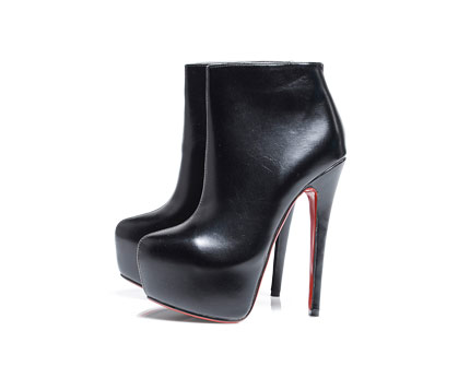 Red Sole Platform Shoe Boots at AxParis