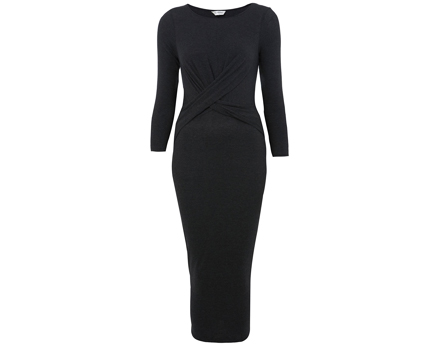 Twist Midi Dress at Miss Selfridge
