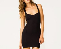 Cage Back Bodycon Dress at  Motel Rocks