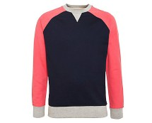 Colour Block Sweater at NewLook