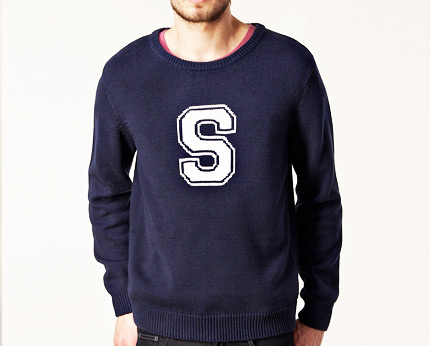 Crew Neck Jumper at Nelly