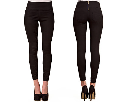 Funky High Waist Leggings at Nelly