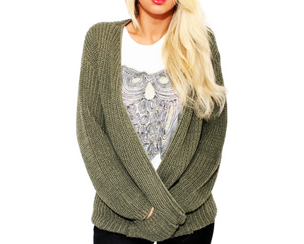 Open Weave Cardigan at Pilot Fashion