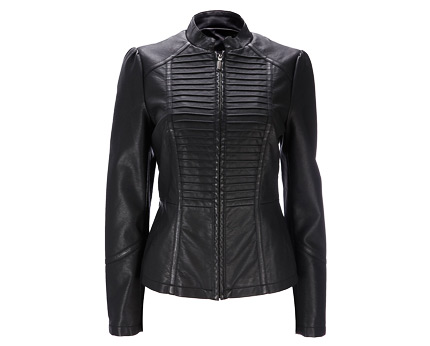 PU Biker Jacket at BHS