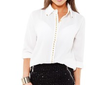 Studded Blouse at Goddiva