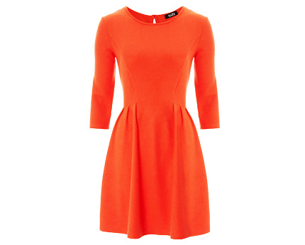 Textured Skater Dress at Asda