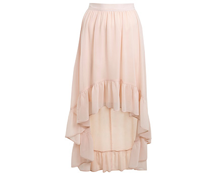 Tiered Hem Skirt at Miss Selfridge