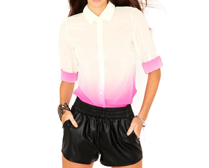 Paley Ombre Blouse