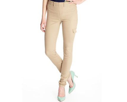 Women's Combat Jegging - Almond