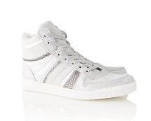 Women's Hi-Tops - Metallic