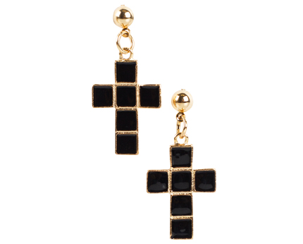 Cross Earrings Nelly