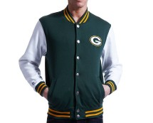 NFL Green Bay Packers Baseball Jacket