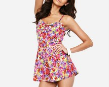 Lipsy Floral Playsuit Isme