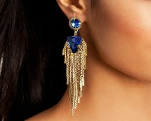 Gold and Silver Coloured NLY Earrings