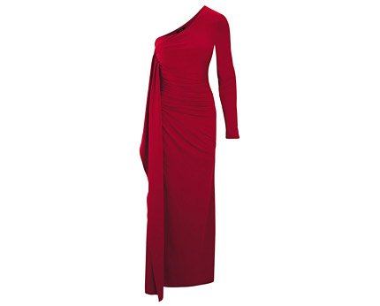 One Shoulder Academy Dress - Red, Black and More