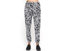 Paisley Print Tapered Trousers Motelrocks