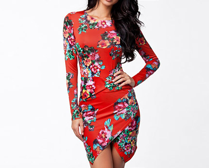 Slinky Bodycon Dress Nelly