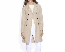 Showerproof Twill Trench Coat - Grey, Beige and More