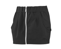 Women's Zip Skirt - Black, Grey