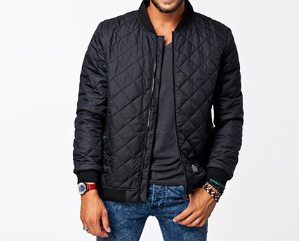 Black Quilted Jacket Nelly