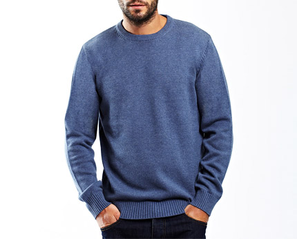 Denim Blue Jumper Bhs