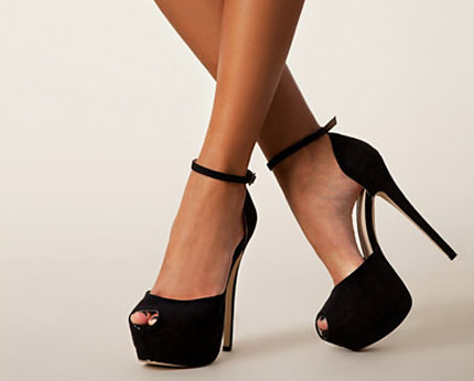 Faux Suede Pumps Nelly