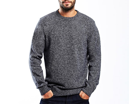 Navy Knit Jumper Bhs