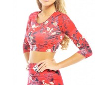 Oriental Crop Top Axparis