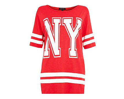 Baseball T-shirt Newlook