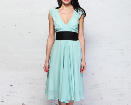 Eucalyptus Regina Mint Green Dress