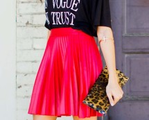 Pleat Skirt in Love With Fashion