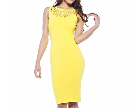 Midi Bodycon Dress at Axparis