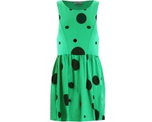 Black Spot Skater Dress In Love With Fashion